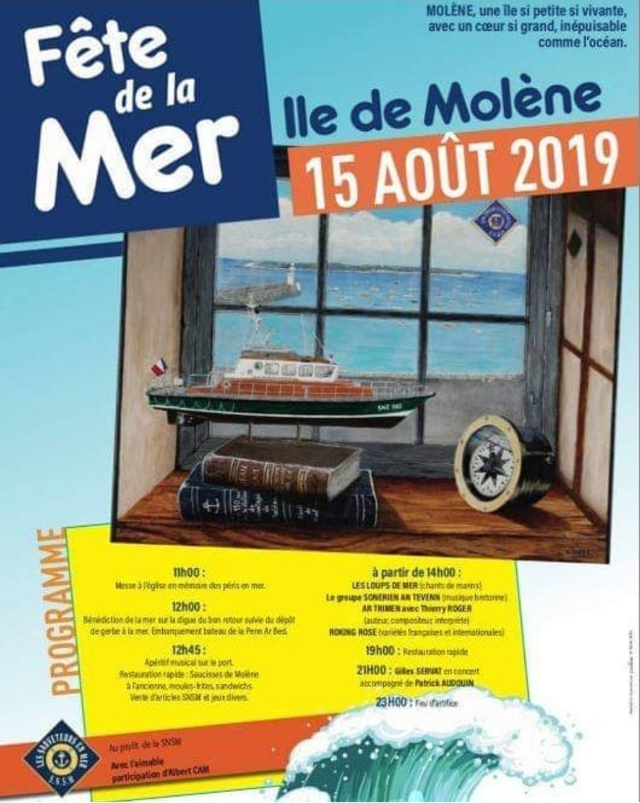 Fête de la mer molène 15 août
