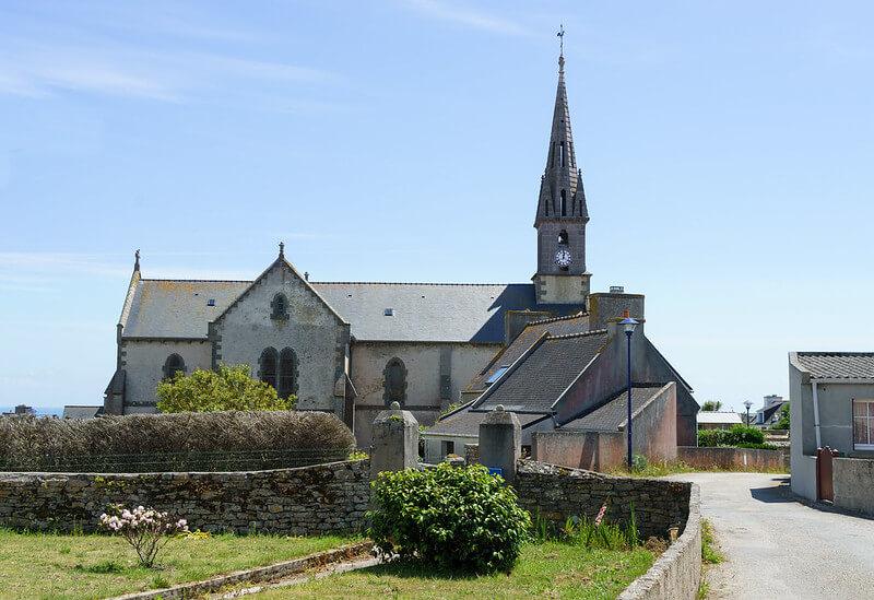 Eglise Saint-Ronan île de Molène