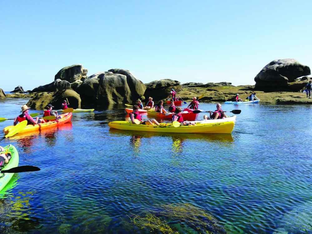 Balade en kayak - Activités nautiques Ouessant