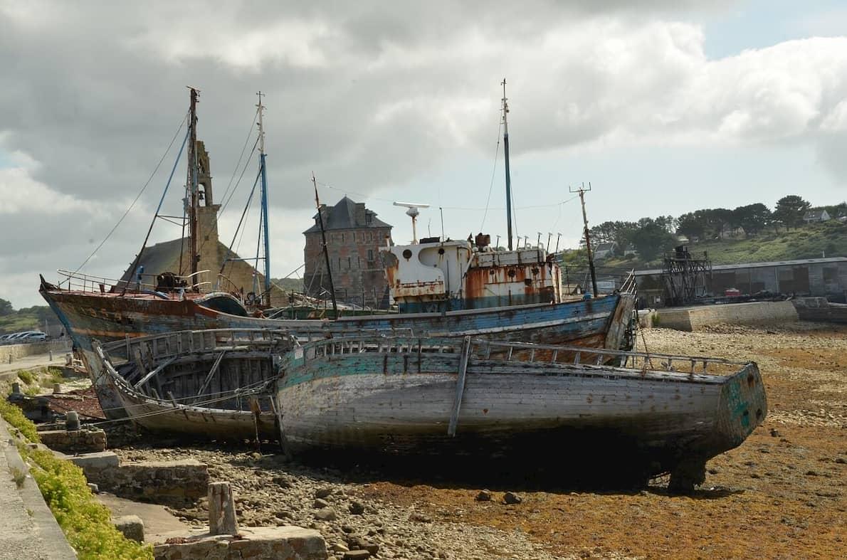 Cimetière Bateau Camaret sur Mer