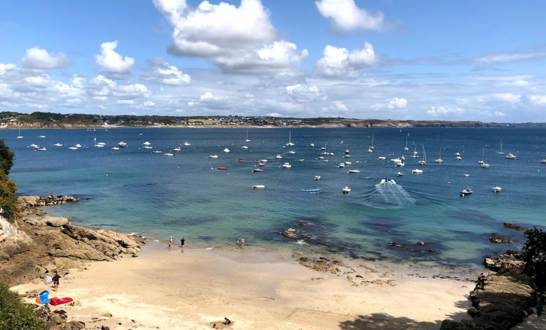 anse de bertheaume plus belle plage du Finistère