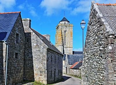 la chapelle de Saint Tugen à Primelin - Franck Barré